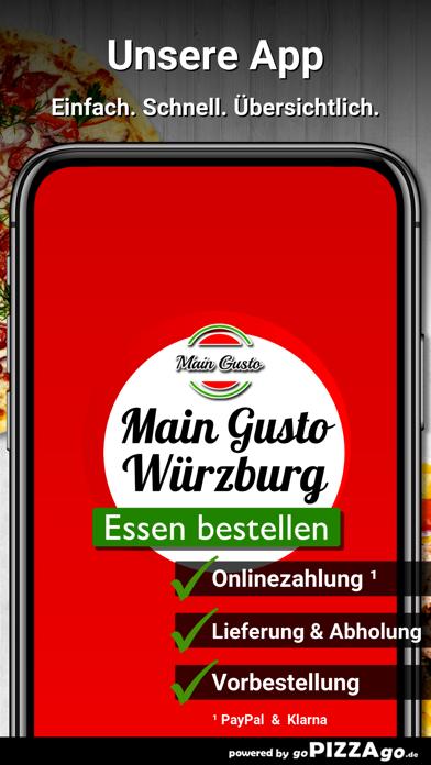 Main Gusto Würzburg screenshot 1