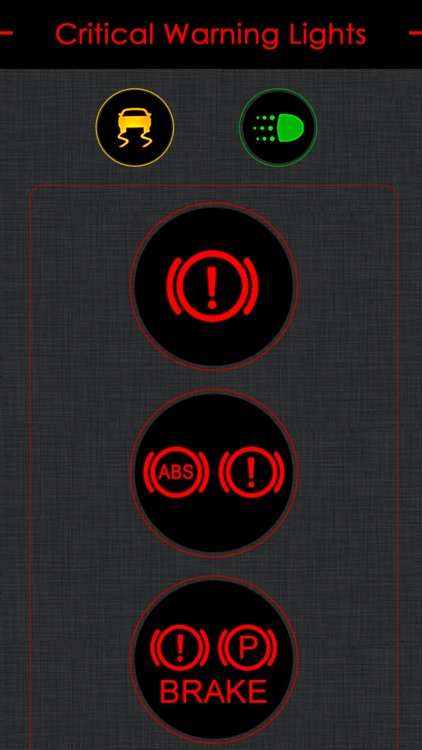 Nissan Warning Lights Meaning