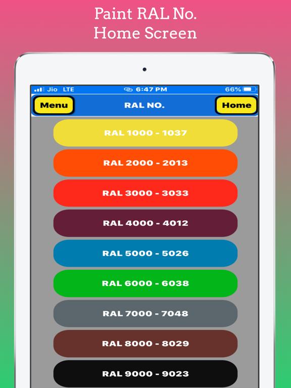 Paint RAL No screenshot 7