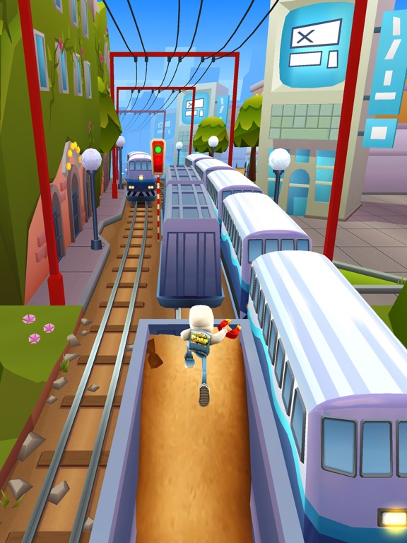 Subway Surfers iPad captures décran