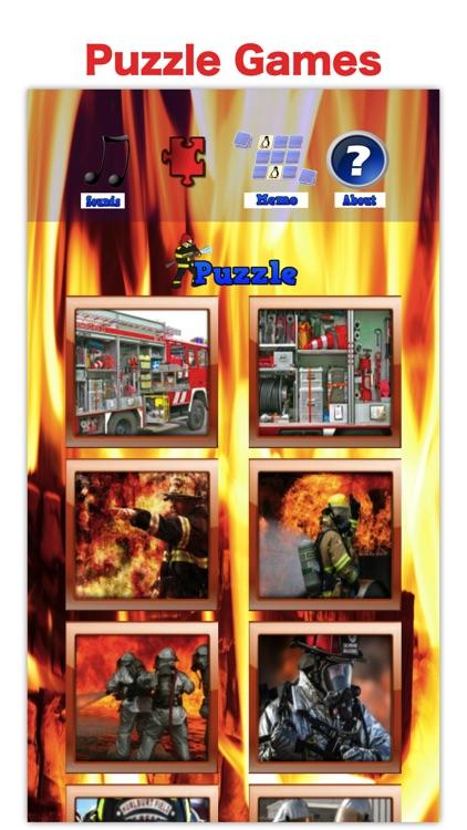 Firefighter & Fire Truck Games