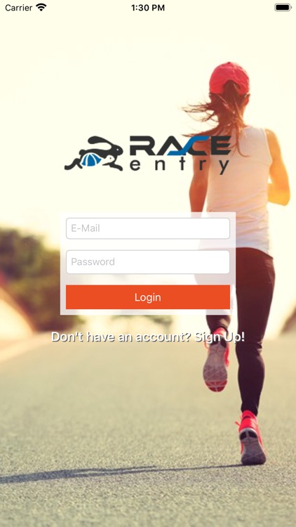 Race Entry Experience