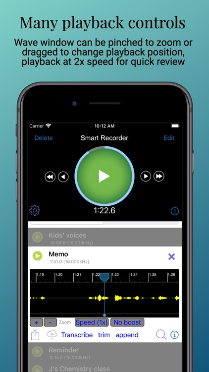Smart Recorder and transcriber screenshot-4