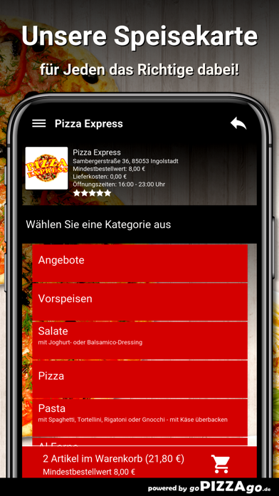 Pizza Express Ingolstadt screenshot 4