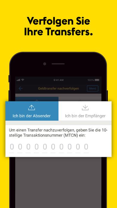 Western Union® GeldtransferScreenshot von 4