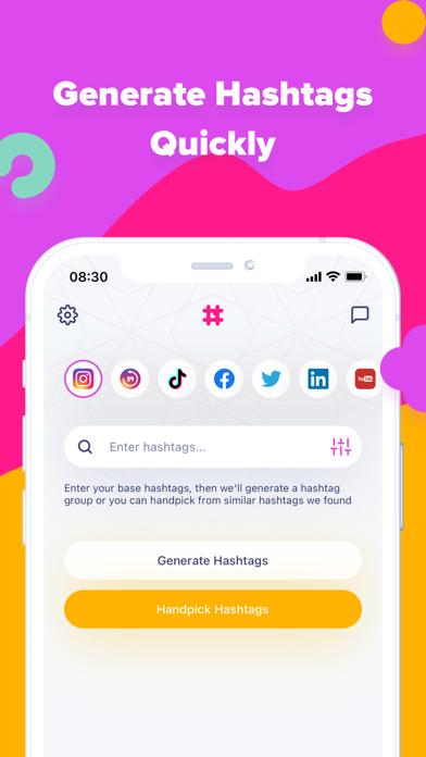 Hashtag Expert Screenshot