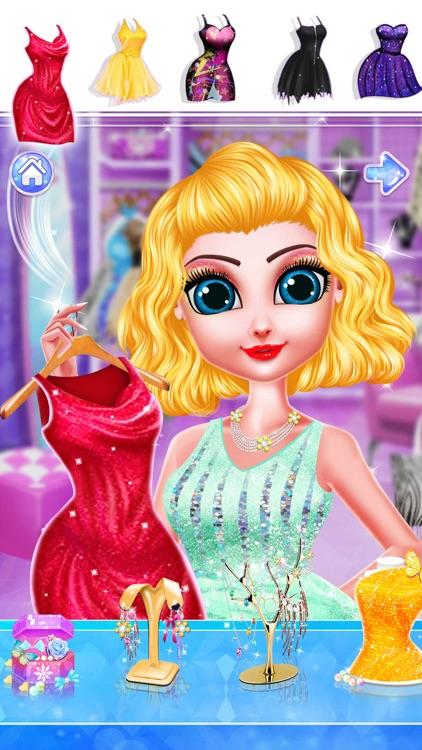 Fashion Hair Salon Girls Games screenshot-3