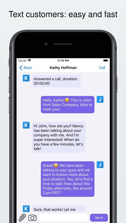 My Second Line: Calls & Texts screenshot-3
