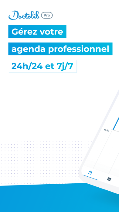 Doctolib Pro: Agenda praticien