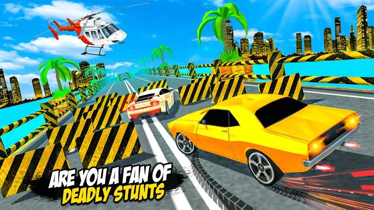 Prado Car Stunts Mega Ramp SUV screenshot-4