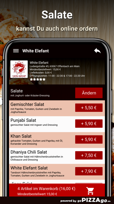 White Elefant Offenbach Main screenshot 4