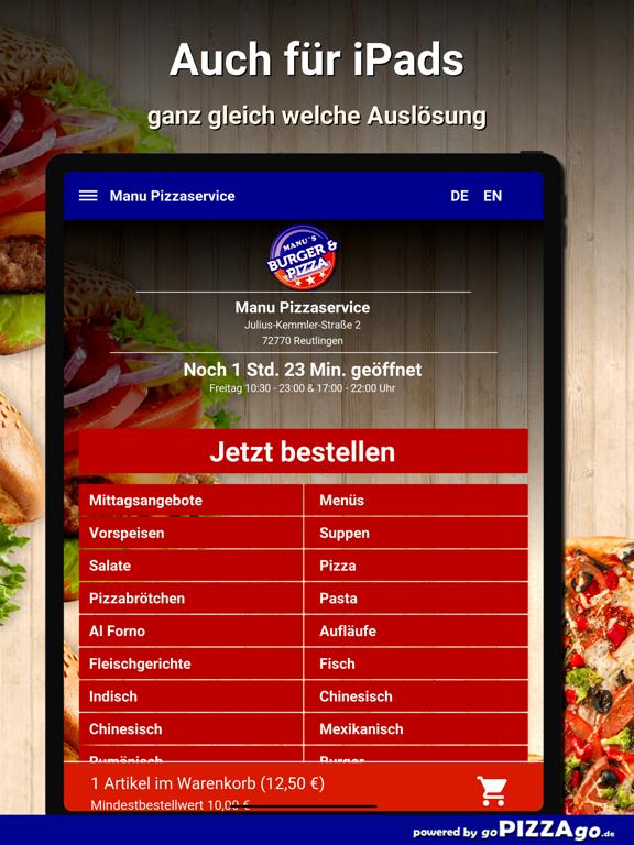 Manu Pizza Reutlingen screenshot 7
