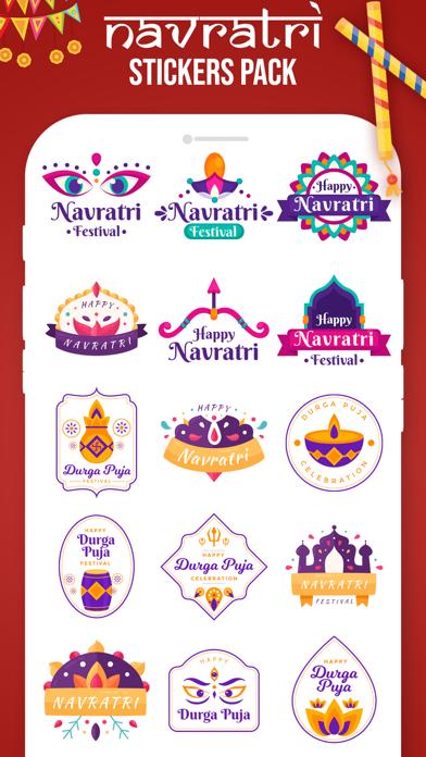 Navratri Stickers! screenshot 3