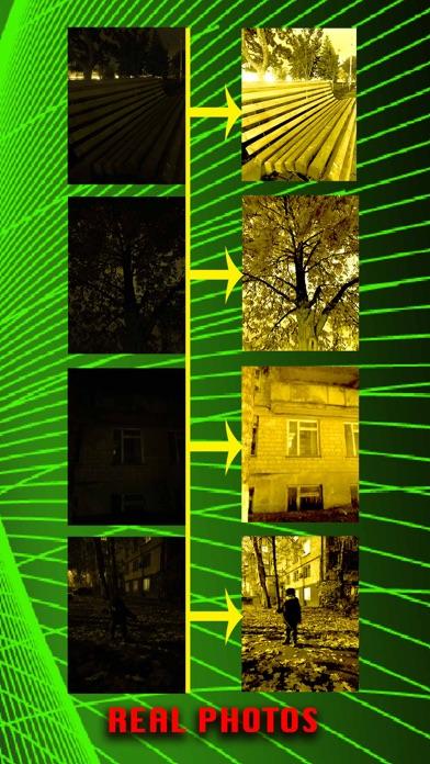 暗視カメラ:ダークモードで見るのおすすめ画像3