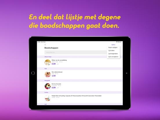 Reclamefolder iPad app afbeelding 6