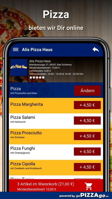 Alis Pizza Haus Bad Schlema screenshot 2