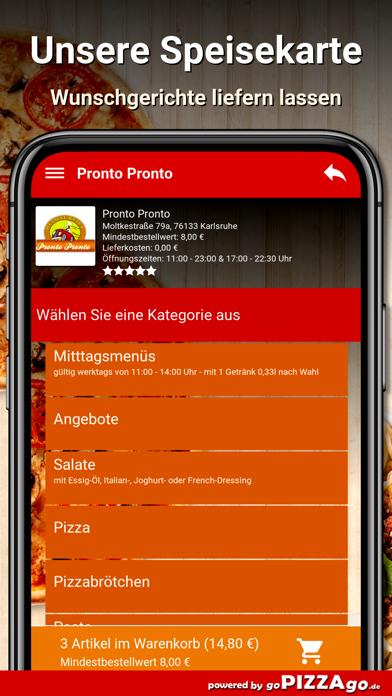 Pronto Pronto Karlsruhe screenshot 5