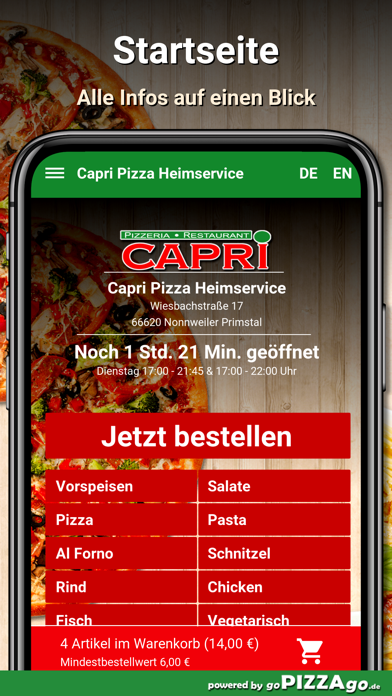 Capri Nonnweiler Primstal screenshot 2