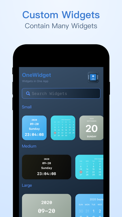 OneWidget - Widgets in One App screenshot #2