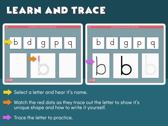 Montessori Letter Reversals screenshot 9