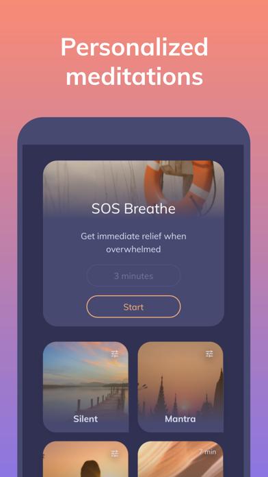 Youper AI Therapy Screenshot