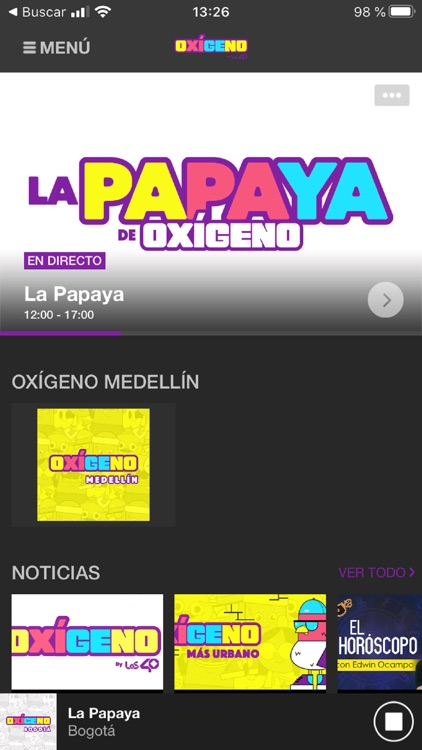 Oxígeno FM Radio screenshot-1