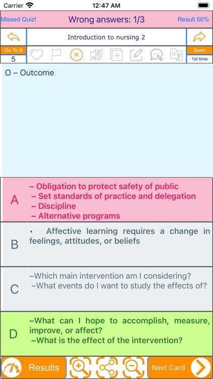 Nursing Review: Multi-topics screenshot-4