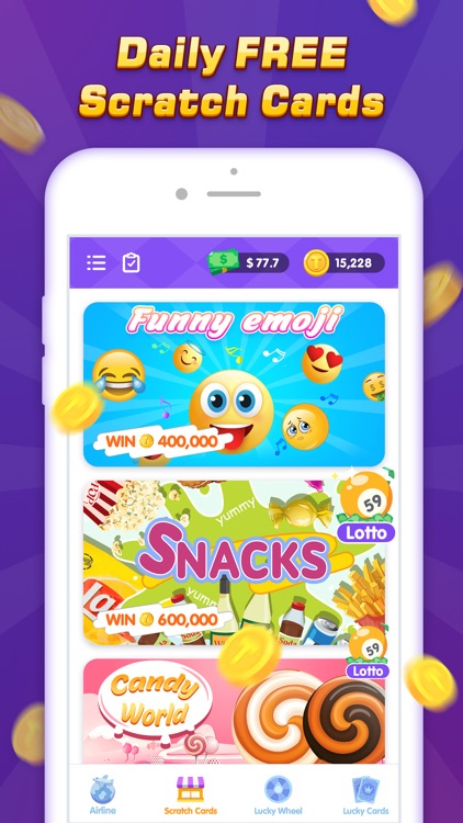 Daily Scratch - Play & Fun