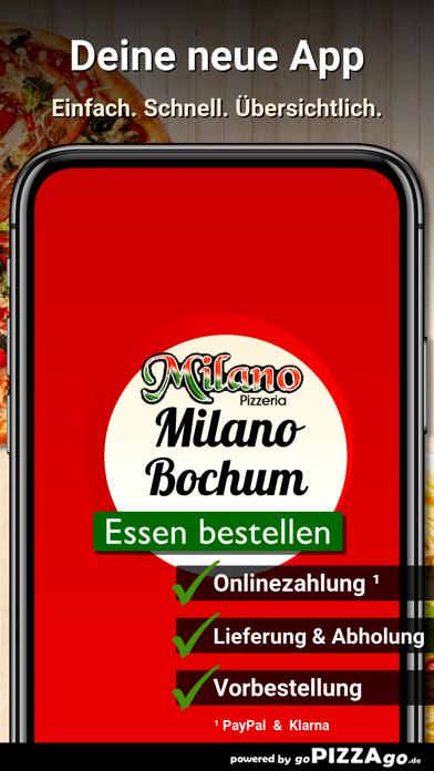 Pizzeria Milano Bochum screenshot 1