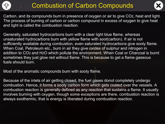 Combustion of Carbon Compounds screenshot 8