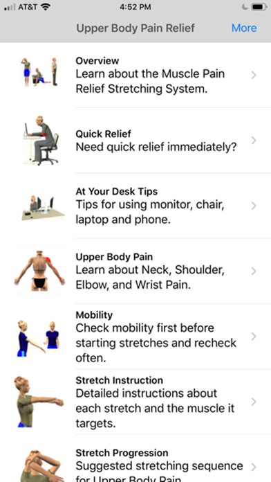 Stretch for Pain Relief Upperのおすすめ画像1