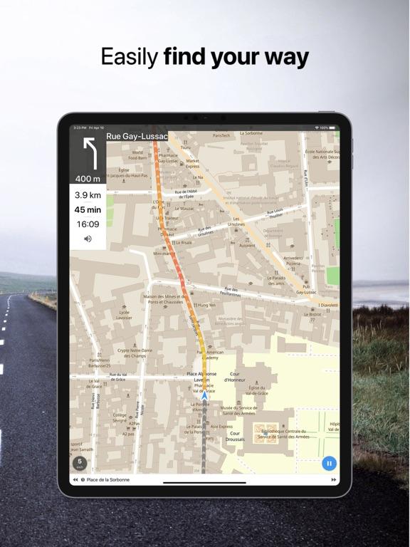 Galileo Offline Maps screenshot