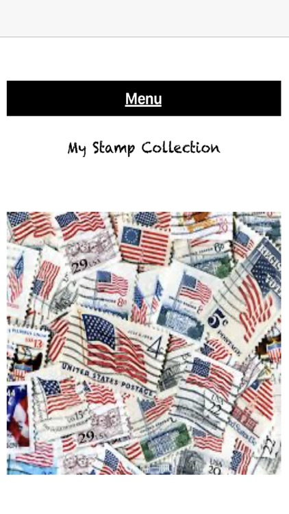 My Valuable Stamp Collection
