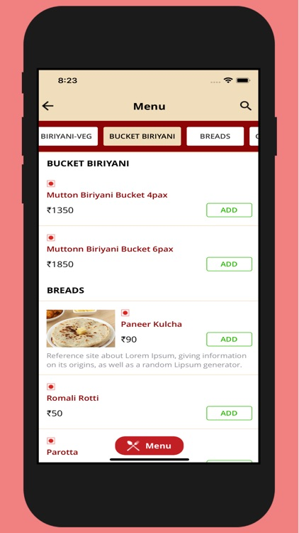 Copper Kitchen Ordering App By Syed Harris
