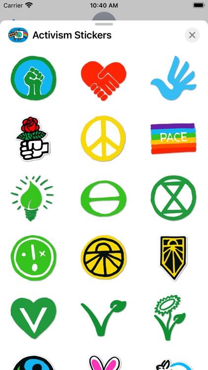 Activism Stickers