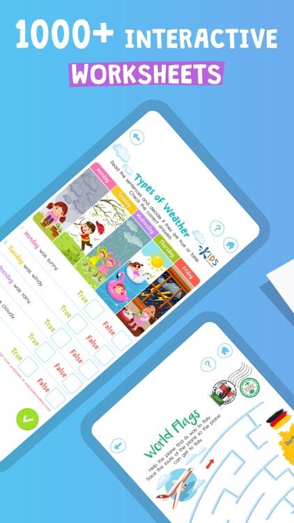 Learning worksheets for kids