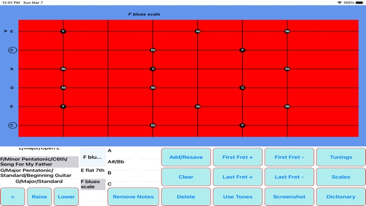 The Chord and Scale Finder screenshot-8
