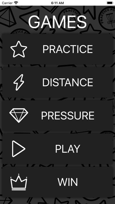 Practice Putt Disc Golf Screenshot