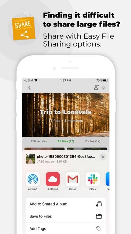 JioCloud screenshot-5