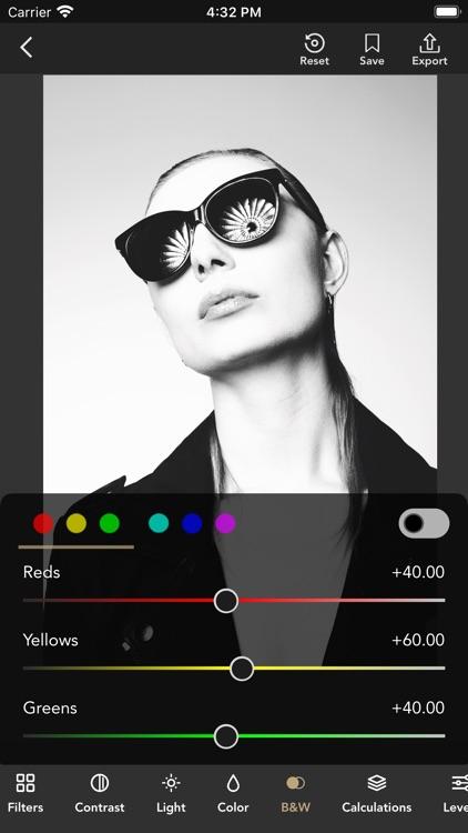 Monotone B&W Filters & Effects screenshot-3