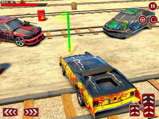 Train Car Derby Crash Sim 3D screenshot 8