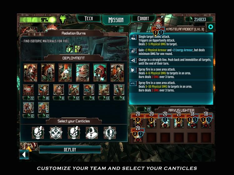 Warhammer 40,000: Mechanicus screenshot-4