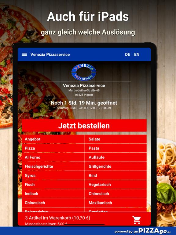 Venezia Pizzaservice Plauen screenshot 7