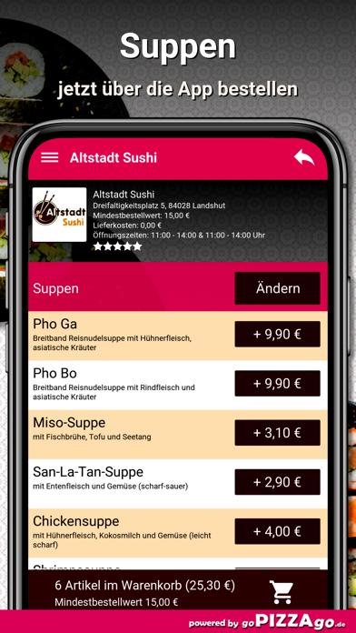 Altstadt Sushi Landshut screenshot 5