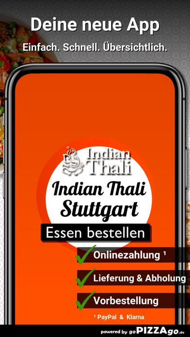 Indian Thali Stuttgart screenshot 1