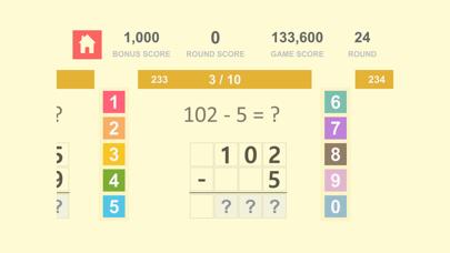 数学の基礎 Math Quiz - 自然数 加算、減算 3紹介画像7