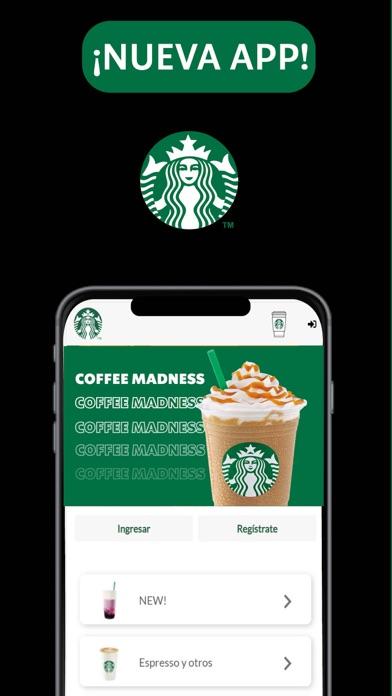 Starbucks El Salvador. screenshot 1