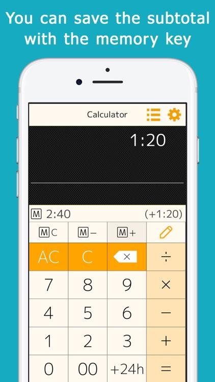 Time : Calculator++