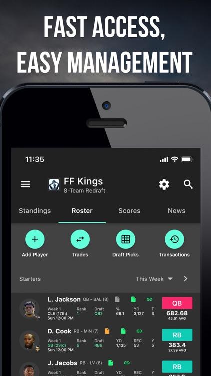 Fleaflicker Fantasy Sports screenshot-3