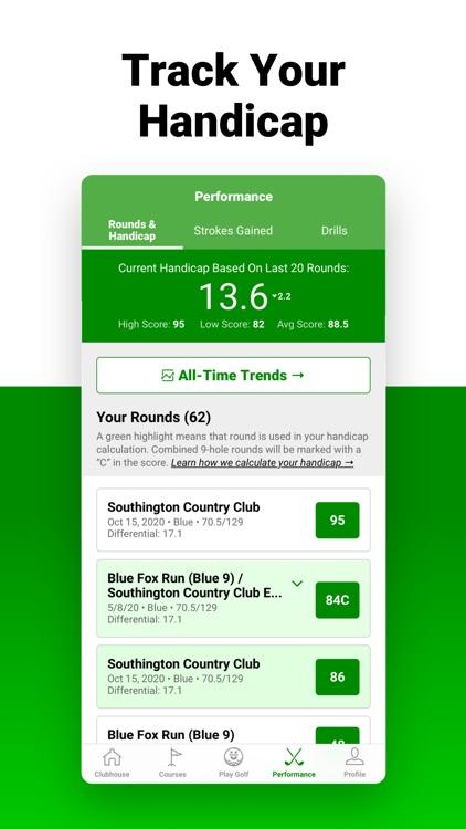 Golf GPS SwingU screenshot-4